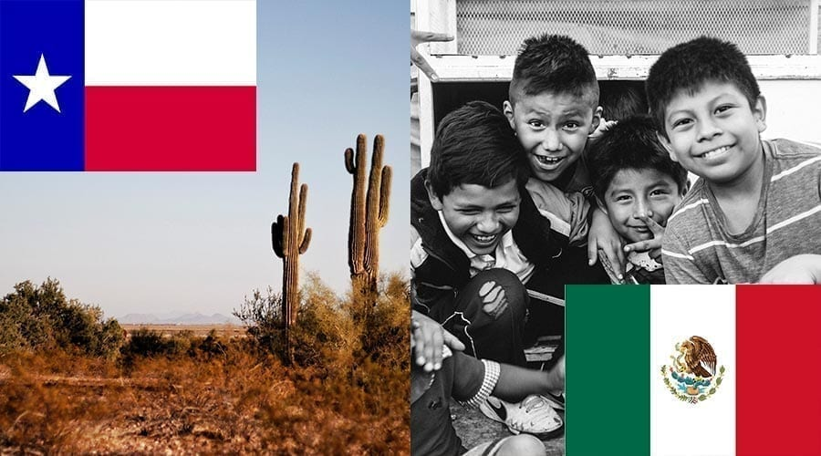 texas and mexico